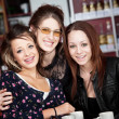 Threesome in Cafe — Stock Photo #40621461