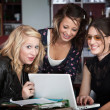 Stock Photo: Giggling College Girls