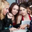Group of Girls Study — Stock Photo