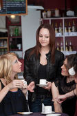 Cafe Girls — Stock Photo