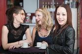 Girls Laughing — Stock Photo