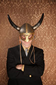 Viking Businessman — Stockfoto