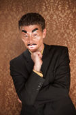 Masked Businessman — Stock Photo