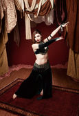 Gorgeous Belly Dancer — Stock Photo