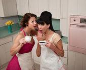 Women Gosipping — Stock Photo