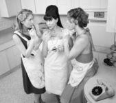 Women Smoking Cigarette — Stock Photo