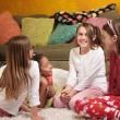 Stock Photo: Children at Sleepover