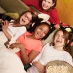 Happy Little Girls — Stock Photo
