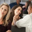Stock Photo: WomEnvying Coworkers