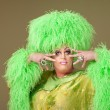 Foto Stock: Flamboyant Drag Queen