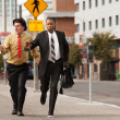 Businessmen In Hurry — Stock Photo #40728637