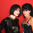 Stock Photo: Two Dominatrix Women