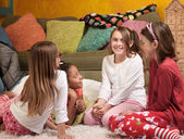 Children at a Sleepover — Stock Photo