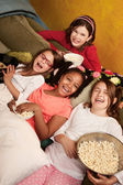 Happy Little Girls — Stock Photo