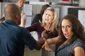 Arguments Between Coworkers — Foto de Stock