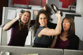 Three Women Quarreling — Foto de Stock