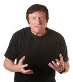 Naštvaný muž — Stock fotografie