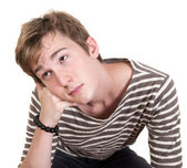 Bored Teen — Stock Photo