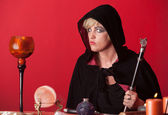 Occult Woman — Stock Photo