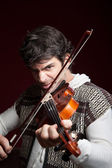 Man Playing Violin — Stock Photo