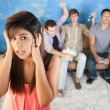 Loud Teens — Stock Photo #40887257