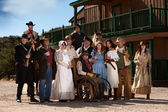 Old West Characters — Stock Photo