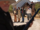 Six Old West Outlaws — Stock Photo