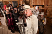 Old West Desperado — Stock Photo