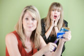 Cut the Credit Card — Stock Photo