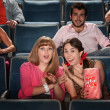Friends at a Theater — Stock Photo #40923689