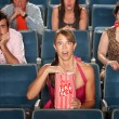 Stock Photo: Surprised Audience in Theater