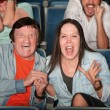 Theater People Scream — Stock Photo #40924509