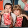 Captivated Couple in Theater — Stock Photo #40924771