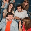 Stock Photo: Irked Audience