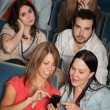 Irritated Audience — Stockfoto
