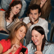 Bothered Audience In Theater — Stock Photo #40925001