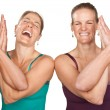 Постер, плакат: Happy Yoga Women