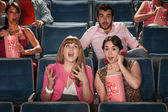 Amazed People In Theater — Stock Photo