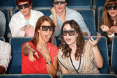 3D Movie Watchers — Stock Photo