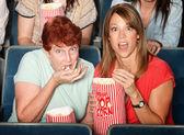 страшно дамы в театре — Стоковое фото