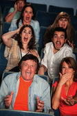 People In Theater — Stock Photo