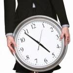 Anxious Woman at Five O'Clock — Stock Photo #40944001