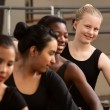 Cute Group of Ballet Students — Stock Photo #40944353