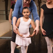 Stock Photo: Instructor with Young Dancer