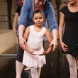 Instructor with Young Dancer — Stock Photo #40944447