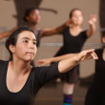 Teen Ballet Students — Stock Photo #40944593