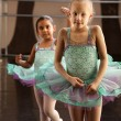 Two Ballerinas Standing — Stock Photo #40944671