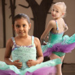 Childrens Ballet Practice — Stock Photo #40944739