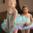 Shy Ballet Students — Stock Photo #40944769