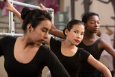 Serious Young Ballerinas — Foto de Stock